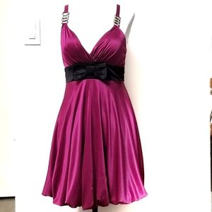 Pink Eclipse Sleeveless Mini Dress